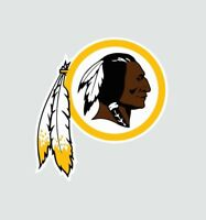 Washington Redskins NFL Football Color Logo Sports Decal Sticker - Free Shipping