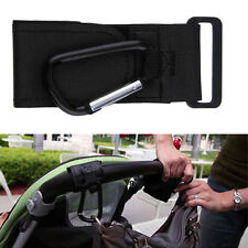 Baby Car Stroller Buggy Pram Clip Hook Hanger Bags Hooks Black Accessories New