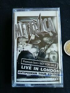 METALLICA : CASSETTE - LIVE IN LONDON (ANTIPODEAN TOUR EDITION) SEALED!!! RARE !