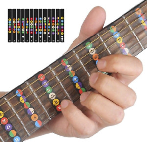 Guitar Notes Stickers for Beginner