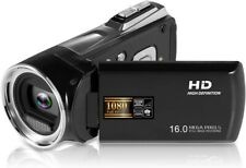LUCKYCAM Camera Camcorder Digital Video Camera HD 1080P 16MP 2.7 TFT LCD Screen