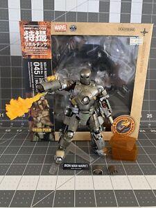 Iron Man Mark 1 Revoltech No.045 Figure Kaiyodo Pre-Owned US Seller