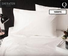 Sheraton Luxury 1000TC 100 Cotton Sheet Set Queen Bed White