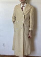 Vintage Ralph Lauren Double Breasted White Camel Coat