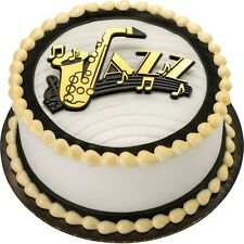 Jazz Music Word Cake Topper  Baking  Decoration New Orleans
