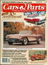 1987 Cars & Parts Magazine: 1956 Chevrolet Corvette/1921 Ford Model TT Fire