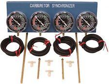 EMGO Carburetor Synchronizer 84-68594 Complete 4 -Carb Set Carb Tuner Tool