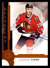 2016-17 Artifacts Orange #5 Jonathan Toews Blackhawks #/55 (ref 32135)