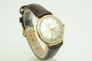 Authentic Hamilton Masterpiece Vintage Watch 1977 Thin-o-matic 10k Gold Engraved