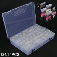 AU 124 Grid Jewelry Drill Storage Box Diamond Painting Embroidery Diamond New