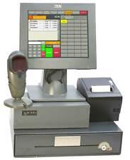 IBM caja surepos 300 elo-pantalla táctil kassendrucker escáner kassenschublade