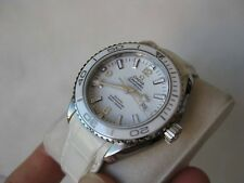 OMEGA LADIES 600M SEAMASTER PLANET OCEAN AUTO DIVERS WATCH 232.33.38.20.04.001
