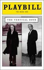 Playbill The Vertical Hour  Julianne Moore  Bill Nighy Dan Bittner  Andrew Scott