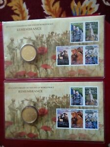 2008 90th Anniversary Of WWI Remembrance Day PNC-  2 consecutive numbers