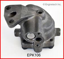 Engine Oil Pump-VIN: Z, GAS, OHV, CARB, Motorcraft, Natural, Ford, 12 Valves