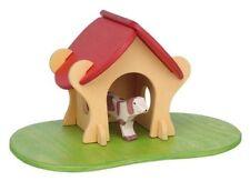 Holztiger - Hundehütte - Haus, Gebäude, kleiner Stall - inkl. Bodenplatte