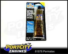 Permatex Hi-Temp Ultra Copper Silicone sealant for Automotive -65F - +700F 81878