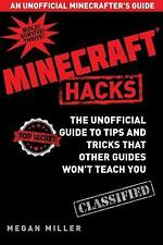 MINECRAFT HACKS Guide to Tips+Trivks Megan Miller HC Combined Shipping