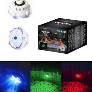 Lay-Z-Spa 7 Colour LED Underwater Light Hot Tub Pool Spa Accessory Home Decor