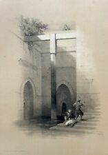 David Roberts FIRST EDITION 1840', Cairo, Egypt, Large!  Lithograph