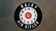 "*NEW* 14.25"" ROUND DAISY AIR RIFLE TOY GUN OIL GAS GLASS clock FACE FOR PAM"