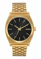 *BRAND NEW* NIXON WATCH THE TIME TELLER ALL GOLD / BLACK SUNRAY A0452042 NIB!