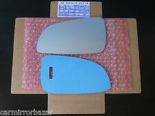 518LF - Saturn Astra Mirror Glass + FULL SIZE ADHESIVE PAD Driver Side Left LH