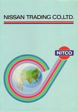 Nissan Trading Co Ltd c 1982 Corporate Sales Brochure In English