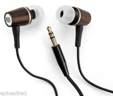 Altec Lansing MUZX MHP136 HARD WOOD EARPHONES HEADPHONE