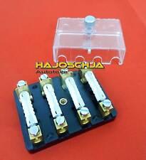 4fach Sicherung  für Torpedosicherung Sicherungsdose Sicherungskasten 8A