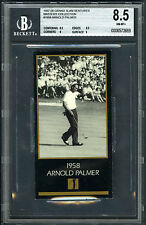 ARNOLD PALMER~RARE 1997 GRAND SLAM VENTURE 1958 MASTERS BGS-8.5 NM/MT+ GOLF CARD