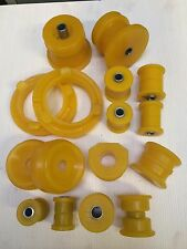 Ford Sierra/ Escort Cosworth Front and Rear DURAFLEX EXTREME bush set in yellow