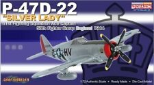 "Dragon 1:72 USAAF Republic P-47D-22 Thunderbolt Fighter, ""Silver Lady"" #DRW50268"