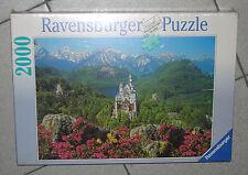 RAVENSBURGER -2000 PEZZI - CASTELLO DI NEUSCHWANSTEIN - anno 1997 NUOVO