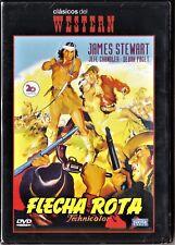 FLECHA ROTA de Delmer Daves. España tarifa plana envíos DVD: 5 €