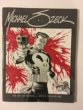 THE ART OF MICHAEL J. ZECK VOL. 1 2005 limited edition 904/1000 signed
