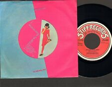 "WRECKLESS ERIC Hit & and Miss Judy SINGLE 7"" STIFF 1979 SCRAP PAPER LABEL"