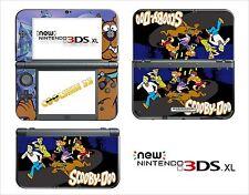 HAUT STICKER AUFKLEBER - NINTENDO NEU 3DS XL - REF 113 SCOOBY DOO
