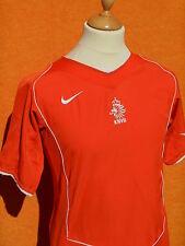 NETHERLANDS Team Maillot Jersey Camiseta Home 2004 2006 KNVB Holland Dutch Nike