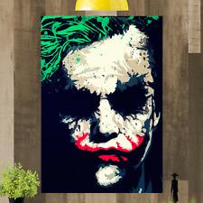 The Joker Heath Ledger Framed Canvas Wall Art Picture Print