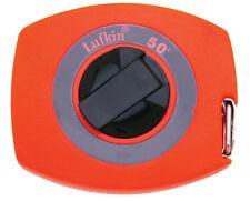 Lufkin 50 ft. L x 0.38 in. W Tape Rule Orange 1 pk