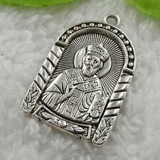 free ship 20 pieces tibet silver Jesus charms pendant 38x24mm #819