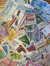 HENRY'S STAMPS - 100  DIFFERENT U.S. USED COMMEMORATIVES - OFF PAPER -