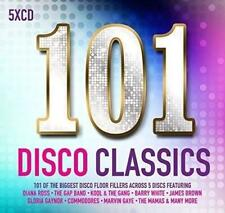 101 DISCO CLASSICS Various Artists NEW & SEALED 5CD set (SPECTRUM) SOUL POP