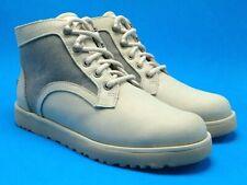 UGG Bethany Woman Leather Canvas Nubuck Ceramic Sheepskin  Ankle Boot US 6 8 11