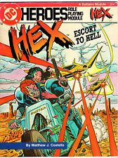 Hex: Escort to Hell - DC Heroes Role Playing Module (1986, Mayfair)