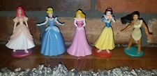 Disney Princess PVC plastic Figures Cake Toppers Toys