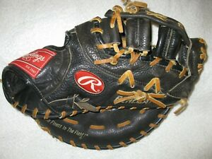 Rawlings brown leather Renegade model right handed thrower 1st baseman's glove