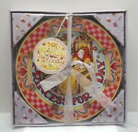 """Vintage 2001 Mary Engelbreit """"Princess For A Day"""" Porcelain Collector's Plate."""