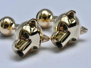 Cartier Panthere Cufflinks 18k